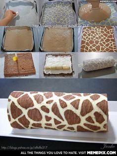 Giraffe cake anyone?
