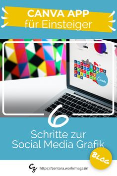 Schritt-für-Schritt Anleitung: Bilder kostenfrei für Social Media und Webseiten gestalten #canva #socialmedia #grafik App, Blog, Side, Step By Step Instructions, Social Media, Graphics, Weaving, Tutorials, Apps