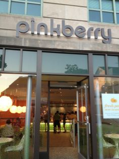YUM!  Anyone with kids needs to know all of the frozen yogurt/ice cream spots!  We love Pinkberry!