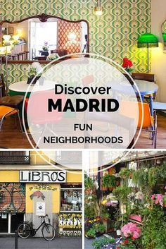 Discover by living. (Discover Malasaña, a great neighborhood in Madrid. It's the place to go for vintage and great bars. Oh The Places You'll Go, Cool Places To Visit, Places To Travel, Travel Destinations, Spain Tourism, Spain Travel, Mexico Travel, Madrid Travel, Spain And Portugal