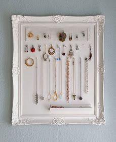 Miss Lovie: 15 DIY Jewelry Organizers and Displays
