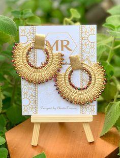 Brick Stitch Earrings, Seed Bead Earrings, Beaded Earrings, Statement Earrings, Seed Beads, Beaded Jewelry, Flower Wall Backdrop, Wall Backdrops, Jewelry Crafts