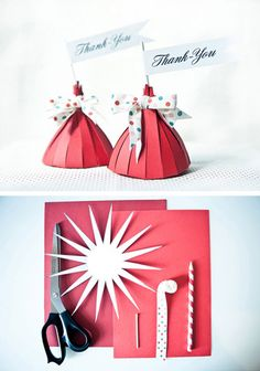 DIY Fun Favour Boxes