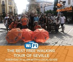 ¿Quieres conocer las visitas guiadas más reales y más locales de Sevilla y disfrutar de nuestro Wifi? 🌞👣👣👣😎Do you want to join the best local guided tours of Sevilla and enjoy free Wi-Fi? #spain #andalucia #visitas #Travelers #PlazaEspaña #añomurillo #santacruz #bartolomemurillo #murilloensevilla #tourgratuito #wifreetour #freewifi #freetourwifi #turismo #viajar #FreeTour #FreeWalkingTour #LoveSeville #Visitesguidees #CityLovers #Guidedtours #culture #ConocerSevilla #Travel #Travellers…