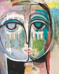 """Serena & Lily """"Do It All Again Tomorow"""" by Craig Greene Bachelor Of Fine Arts, Abstract Faces, Color Effect, Henri Matisse, Figurative Art, Art For Sale, Wall Art, Illustration, Artist"""