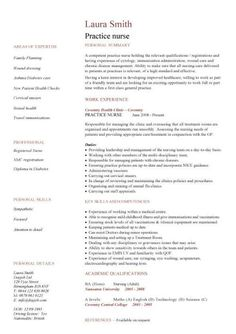 nursing cv template nurse resume examples sample registered resumes healthcare - Professional Nursing Resume Template