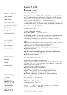 nursing cv template nurse resume examples sample registered resumes healthcare - Home Health Nurse Resume