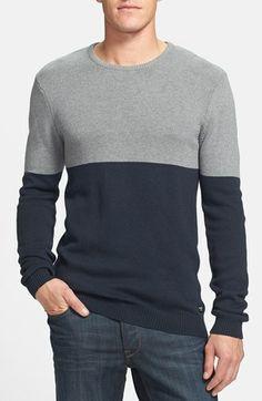 Globe 'Spencer' Colorblock Crewneck Sweater | Nordstrom