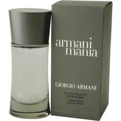 Mania By Giorgio Armani Edt Spray 3.4 Oz