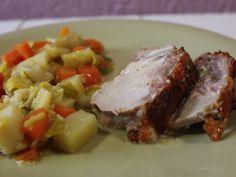 Veau Orloff et son ragoût de légumes d'hiver