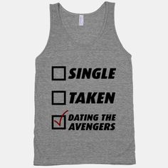 Dating The Avengers | HUMAN | T-Shirts, Tanks, Sweatshirts and Hoodies