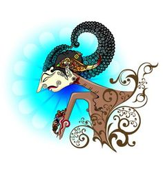 Wayang kulit or shadow puppet vector Snow Vector, Egg Vector, Vector Graphics, Vector Art, Drawing Sketches, Art Drawings, Baseball Vector, Web Icon Vector, Shadow Puppets