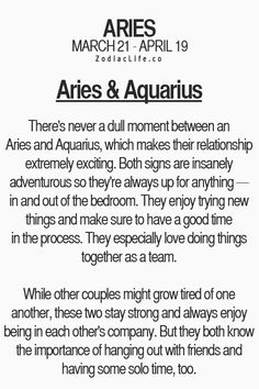 Aquarius and aries sexually compatible