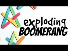 Craft Stick Exploding Boomerangs - I Can Teach My Child!