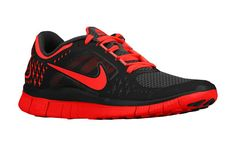 Nike WMNS Free Run 3 Bright Crimson