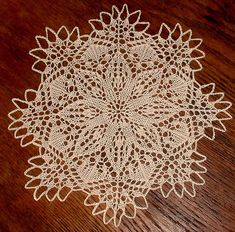 little flower doily complete edit by BadCatDesigns, via Flickr