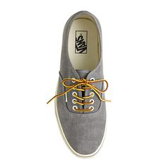 washed canvas authentic sneakers   Vans® for J.Crew  ad9dcd2ae