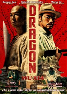 Dragon (Wu Xia, 2011). - A papermaker gets involved with a murder case concerning two criminals leading to a determined detective suspecting him and the former's vicious father searching for him. - Director: Peter Ho-sun Chan (as Peter Chan) - Writers: Joyce Chan, Oi Wah Lam - Stars: Donnie Yen, Takeshi Kaneshiro, Wei Tang