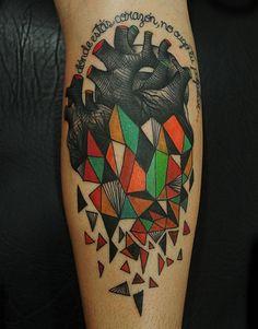 follow the colours karolina bebop tattoo 16 Estampas e muitas cores nas tatuagens de Karolina Bebop