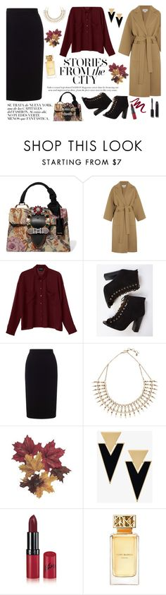 """""""#374"""" by blacksky000 ❤ liked on Polyvore featuring Miu Miu, Loewe, Monki, Roland Mouret, Lucky Brand, Yves Saint Laurent, Rimmel, Tory Burch and Chanel"""