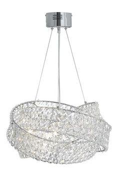 Buy Clear Venetian 5 Light Chandelier from the Next UK online shop Ceiling Lights Uk, Kitchen Ceiling Lights, Bathroom Ceiling Light, Ceiling Light Design, Informal Dining Rooms, Elegant Dining Room, Chandelier Bedroom, 5 Light Chandelier, Chandeliers