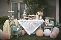 Beautiful for an outdoor party!