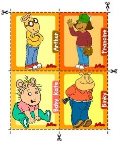 Marc Brown theme I was obsessed with Arthur when I was a kid