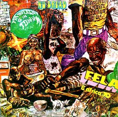 Lemi Ghariokwu is the visionary behind dozens of Fela Kuti's album covers. Like the music, the sleeves are socially conscious. Cover Art, Jazz, Fela Kuti, Art Beat, Warrior Spirit, Hand Drawn Type, Music Clips, Afro Art, Photomontage