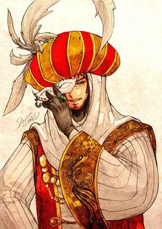 Adornment of a Legend by darkn2ght.deviantart.com on @deviantART - Sadik during the time of the Ottoman Empire.