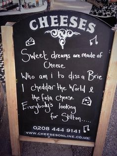 Cheese, good puns, and 80s music all in one...