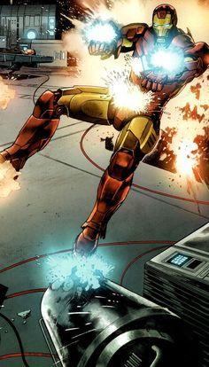Iron Man by Lan Medina