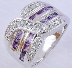 gorgeous amethyst 10KT white Gold Filled Ring sz10: http://www.outbid.com/auctions/17631-good-vibes-marketplace#11