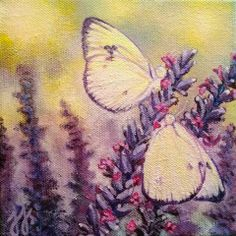 """""""Sweet Reunion""""  Acrylic on stretched canvas © 2013 Julie Joaquin."""