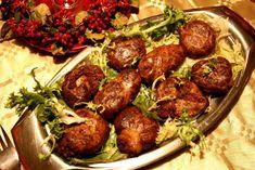 TIPICI. Le tomacelle teoresi (polpette di frattaglie)