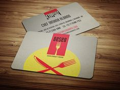 Restaurant business card logo pinterest business cards restaurant name cards food stations diners more information colourmoves