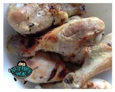 Super Easy Chicken Drumsticks by Nut Free Wok  Recipe at http://www.nutfreewok.com/super-easy-chicken-drumstick-recipe/