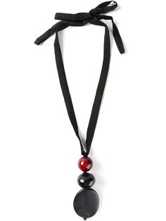 MARIA CALDERARA pendant tied necklace - £181 on Vein - getvein.com
