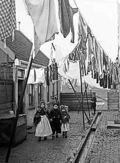 1940 Wasdag in Volendam bewri
