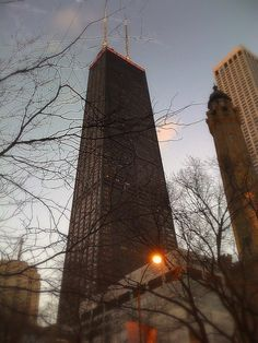 John Hancock Building - Chicago, IL - Signature Lounge, 96th Floor =)  Went to the Signature with Baylor.