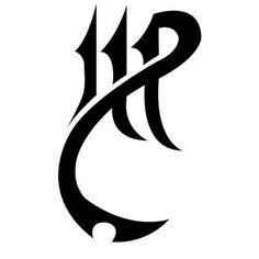 Tribal virgo tattoo