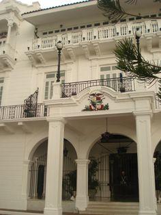Panama City, Panama. The Panamanian 'White House'