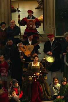 Tudor Christmas at Hampton Court Palace.  Photography by Dan Osbaldeston