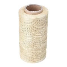 Soledi 260M 1mm 150D Flat Waxed Wax Thread Cord Sewing Craft for DIY Leather Tool Hand Stitching -- Biege *** Want to know more, click on the image.