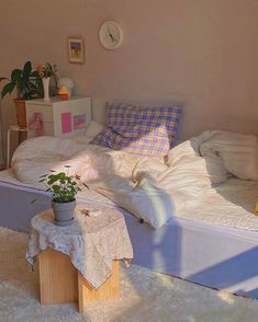 Room Design Bedroom, Room Ideas Bedroom, Bedroom Decor, Bedroom Inspo, Korean Bedroom Ideas, Nursery Design, Cute Room Ideas, Cute Room Decor, Pastel Room Decor