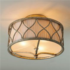 Harlequin Semi-flush Ceiling Light < Perfect for a living room project!