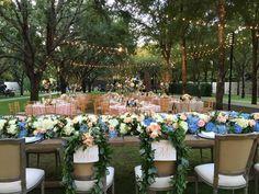"""A stunning shot from Bella Bride Taylor's Nasher garden wedding last night! """