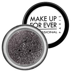 Glitters - MAKE UP FOR EVER | Sephora- Silver 2, Multicolored silver, Multicolored white, White Violet, Sand, Multicolored pink, Pink, Red, Purple, Midnight Glow Gun Metal, Black, Gold, Copper