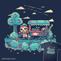Caring for Nature | Shirtoid #animalcrossing #gaming #leif #sarahrichford #techranova #videogame