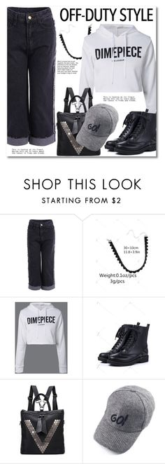 """""""How to Rock Off-Duty"""" by svijetlana ❤ liked on Polyvore featuring offduty"""