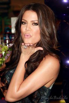 Hair Envy   Warm Brunette Color Khloe' Kardashian